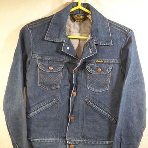 Wrangler Denim Jean Jacket Vintage